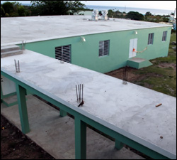 New Charlestown Primary School Cafeteria