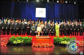 Commonwealth Leaders In Trinidad 2009