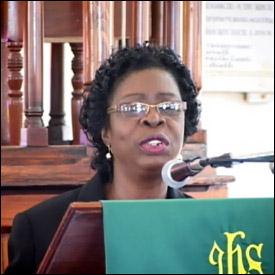 Nevis Education Advisor - Mrs. Christine Springette