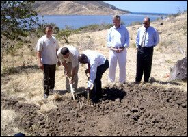 Ground Breaking For First of 1,400 Homes