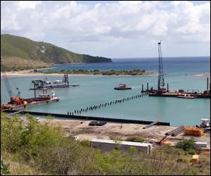 Christophe Harbour Under Construction