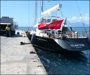 Nevis Tests Refueling Super Yachts