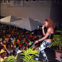 Claudette Peters Performs For Haiti Relief Fund