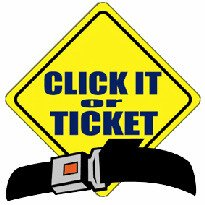 Clickit or Ticket Seatbelt Laws