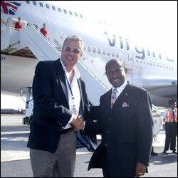 VA's Colin Symes and PM Douglas