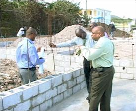 Combermere Community Center Construction