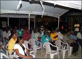 Audience At Cotton Ground Town Hall Meeting