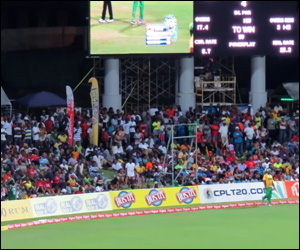 Fans In St. Kitts Watch Cricket Match