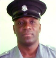 Corporal John Bergan - St. Kitts - Nevis Police