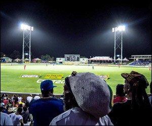 Cricket Fans At Warner Park