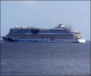 Cruise Ship In St. Kitts
