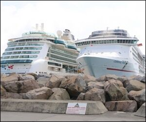 Cruise Liners In St. Kitts