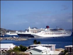 Cruise Ships Docked In Saint Kitts - Nevis