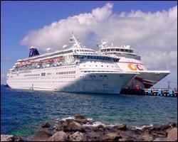 Cruise Ships Docked at Port Zante