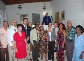 The Cuban Medical Team In St. Kitts