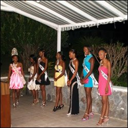 Nevis Culturama Beauty Queen Contestants 2009