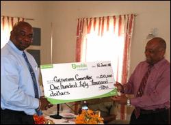 Nevis Culturama Check 2008