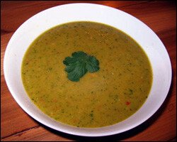 Curried Plantain Soup Recipe
