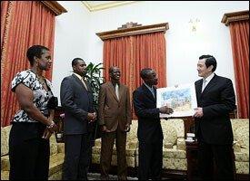 Curtis Martin With Taiwan Ambassador
