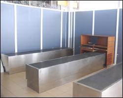 Secondary Customs Area At Bradshaw International Airport