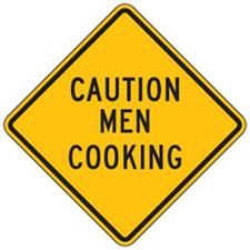 Danger Men Cooking