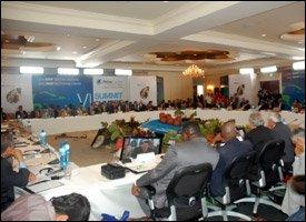 Delegates At PetroCaribe Summitt - 2009