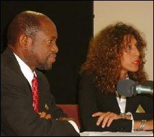 PM Douglas and Dr. Ishamel