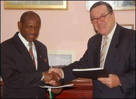 PM Douglas With Gilles Noghes