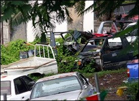 Derelict Vehicles To Be Removed From Nevis
