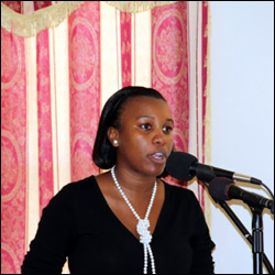 Miss Diana Pemberton - Nevis Youth Services
