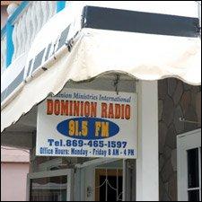 Dominion Radio - 91.5 FM - St. Kitts - Nevis