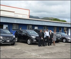 Four New Vehicles Donated By Taiwan