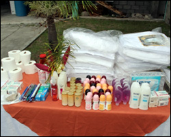 Donated Items To The Hospital and Nursing Home