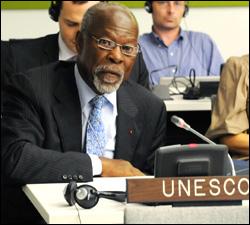 Dr. Davidson Hepburn - UNESCO General Conference President