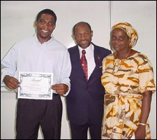 Dr. Drew, PM Douglas, and Drew's Mom