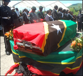 Dr. Simeon Daniel Buried With Full Military Honours