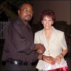 Dr. Vance Gilbert and Ambassador Ana Maria Gonzalez