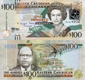 Eastern Caribbean $100 Note