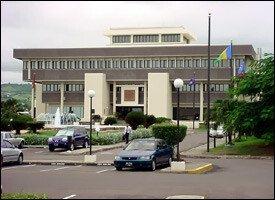 ECCB Headquarters In St. Kitts - Nevis