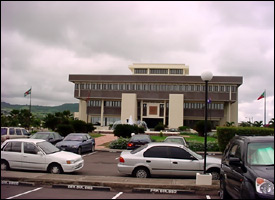 ECCB Headquarters In St. Kitts