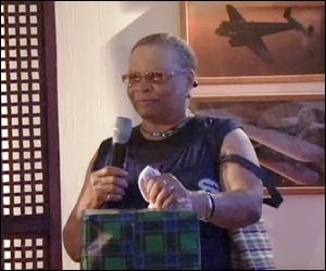 Elvira Clarke - Nevis Airport Employee