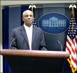 St. Kitts Press Secretary - Erasmus Williams