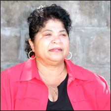 CEO of the Caribbean Foundation for Children - Mrs. Evelyn Henville