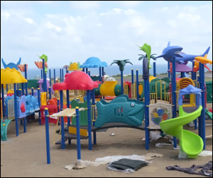 St. Kitts' Family Park Receives New Equipment