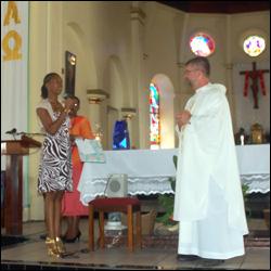 Farewell Service for Father Latus