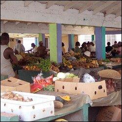Farmer's Market - Charlestown, Nevis