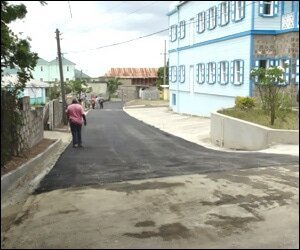Featherbed Alley Road Works Completed
