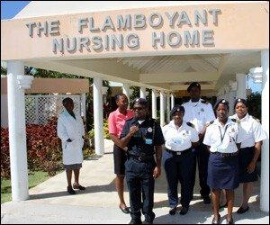 Nevis' Flamboyant Nursing Home