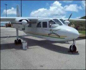 A Fly Montserrat Airlines - Islander Plane