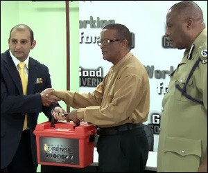 St. Kitts – Nevis Police Receive Forensic Kit